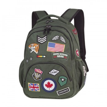 Mochila COOLPACK Bentley Dadges Green 415 porta Pc.