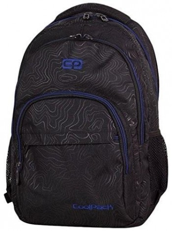 Mochila COOLPACK Basic Topography blue 985 Porta Pc.