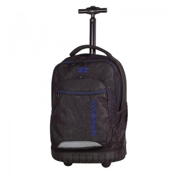 Mochila COOLPACK trolley swift topography blue 986