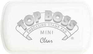 Tampon TOP BOSS mini Embossing ink para relieve 4,5 x 7,5 cm. incolora