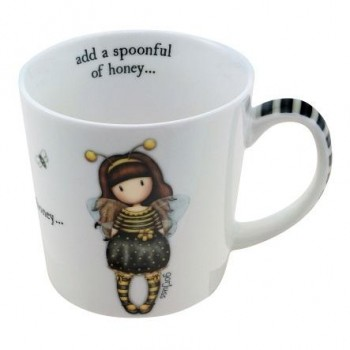 Taza GORJUSS grande Bee-Loved con caja regalo