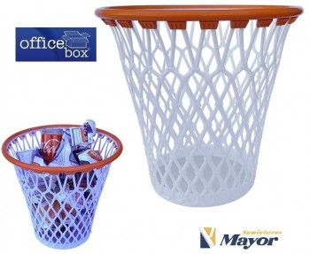 Papelera OFFICE BOX Baskets Lovers 32,5 x 30,8 cm. Polipropileno