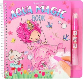 YLVI & MINIMOOMIS Aqua Magic libro de colorear con agua