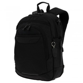 Mochila TOTTO Ejecutivo Pc. y Tablet Binary negro