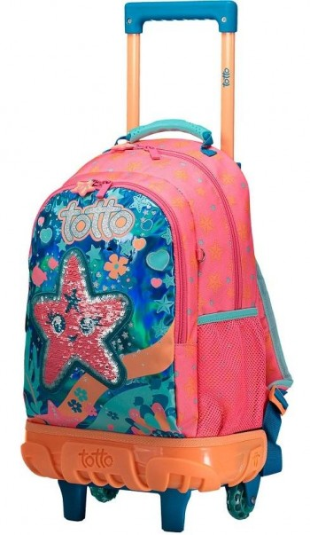 Mochila Troley TOTTO Rue Bomper Infantil Jelly Belly 20100-5IG