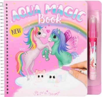 YLVI & MINIMOOMIS Aqua Magic libro de colorear con agua Unicornios