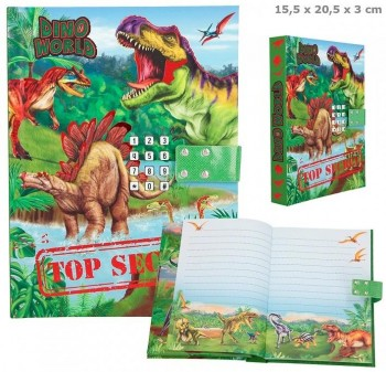 DINO WORLD Diario codigo secreto
