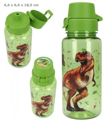 DINO WORD Botella 500 ml. Color Verde