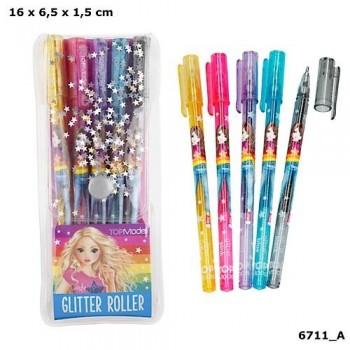 TOP MODEL juego Roller Glitter 5 unidades