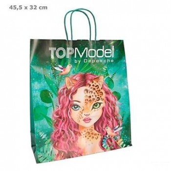 TOP MODEL Bolsa Regalo Con Asa 36 x 32 x 12 cm.