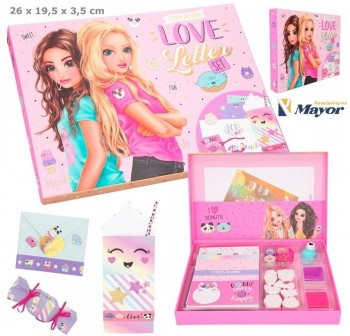 TOP MODEL Love Letter set Candy Cake