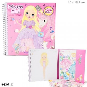 MY STYLE princess mini libro dress me up