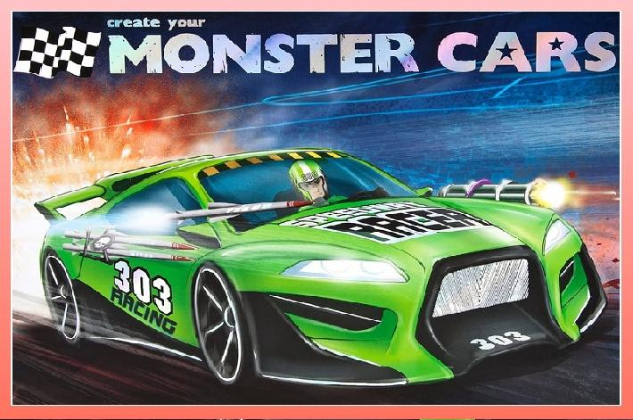 MONSTERS CARS